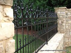 Raleigh Wrought Iron and Fence Co. Custom Wrought Iron Fence in Raleigh NC, Durh… Raleigh Wrought Iron and Fence Co. Custom Wrought Iron Fence in Raleigh NC, Durham, Chapel Hill