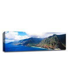 Pali coast Hawaii - large gallery art on sale