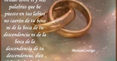 PARA LOS MATRIMONIOS IDIOMA DE DOS CORAZONEZ Tu y Yo https://mariamcontigo.blogspot.com/2016/08/para-los-matrimonios.html