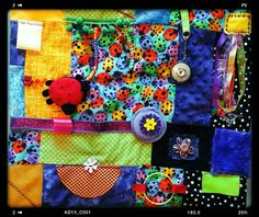 Does your loved one with Alzheimer's have a fidget quilt? Alzheimers Activities, Diy And Crafts, Arts And Crafts, Fidget Blankets, Autism Support, Fidget Quilt, Activity Mat, Lap Quilts, Sensory Activities