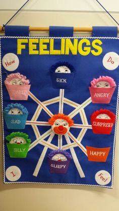A great way for autistic children to express their emotions in class.