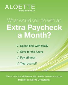 What would you do with an extra paycheck every month?