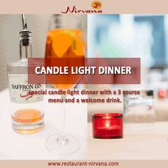 A beautiful and charming candle light dinner in ‪#‎Vienna‬ will bring in more joy!! http://restaurant-nirvana.com/candle_light_dinner.html ‪#‎menu‬, ‪#‎drinks‬, ‪#‎Dinner‬, ‪#‎Indian_food‬, ‪#‎Indian_restaurant‬