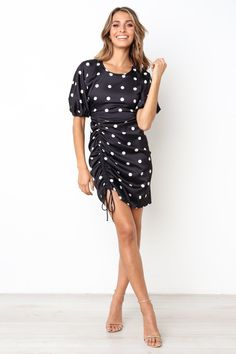 527a3adb1530d Bijoux Dress - Black Dress Black, Short Sleeve Dresses