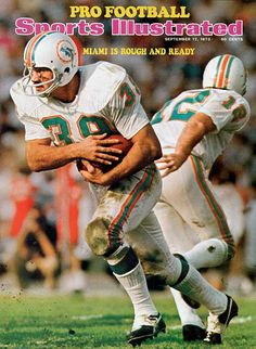 Sports Illustrated. 1973. Larry Csonka.