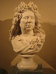 1715-1720 Self Portrait Bust by Antoine Coysevox