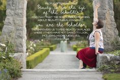 You are the Beholder from Vivienne McMaster