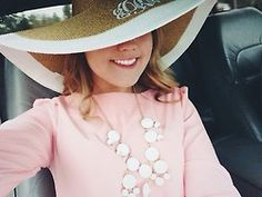 Monogram hat: love it!