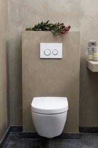 Bekijk de foto van Molitli met als titel Betonstuc badkamer en ...