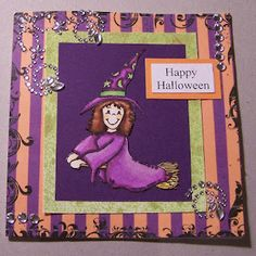 Edwina's Creations: Happy Halloween card.