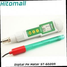 53.19$  Watch here - http://alieml.worldwells.pw/go.php?t=32542683364 - Digital PH Tester Thermometer External PH Electrode Replaceable Water Tester Probe PH Meter ST-6020A / CT-6020A