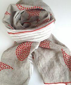 South Street Linen scarf
