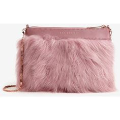 Faux fur leather clutch bag ($84) ❤ liked on Polyvore featuring bags, handbags, clutches, red leather tote, red tote, leather purse, leather shopper tote and genuine leather tote - handbags, large purse with lots of compartments, leather purse womens *sponsored https://www.pinterest.com/purses_handbags/ https://www.pinterest.com/explore/hand-bags/ https://www.pinterest.com/purses_handbags/purses/ https://www.amazon.com/Handbags/b?ie=UTF8&node=15743631