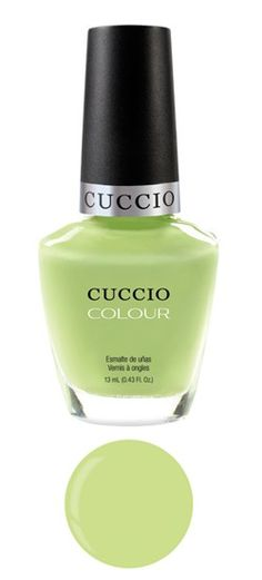 Cuccio Colour - New Pastels Collection - In The Key Of Lime