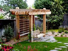 1000 ideas about arbor swing on pinterest arbors for Domestic garden ideas