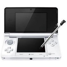 Nintendo 3DS Console - Ice White (UK) /3DS