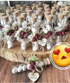 Test tube favours love is sweet wedding favors party favors children' Sweet Wedding Favors, Wedding Favours Luxury, Wedding Gift Boxes, Wedding Gifts For Guests, On Your Wedding Day, Wedding Cards, Diy Wedding, Rustic Wedding, Wedding Ideas