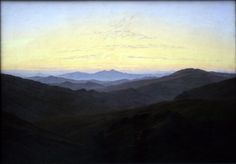 The Riesengbirge - Caspar David Friedrich