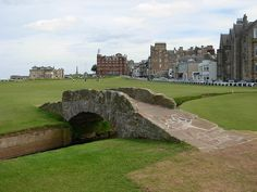 Old Course @ St Andrews, Scotland. Where golf was invented.*And never was there a better way to ruin what might have been a good walk!