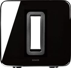 Sonos - SUB Wireless Subwoofer - Black/Black