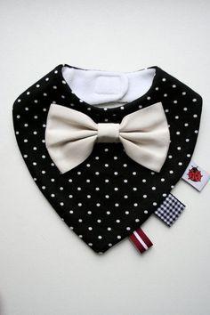 Trend To Wear: Baby boy bandana bib removable bow tie baby shower...