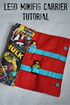 Handmade Gifts for Boys Day Lego Minifig Carrier Tutorial – Silo & Sage Sewing Projects For Kids, Sewing For Kids, Free Sewing, Diy For Kids, Sewing Men, Gifts For Boys, Toys For Boys, Kids Boys, Sewing Toys