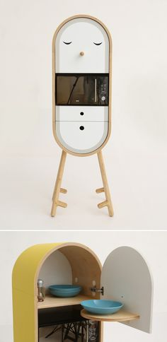 LO-LO Capsular Microkitchen by Tanya Repina & Misha Repin