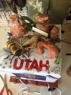 Utah state float