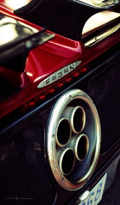 Pagani Zonda coolest part of the car