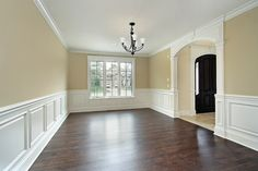 Dining Room with custom wainscoting - traditional - dining room - chicago - by Mandy Brown