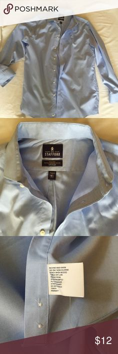 Stafford NWOT Non Iron Cotton Pinpoint Oxford Regular fit brand new Stafford Shirts Dress Shirts