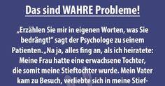 Ein Mann geht zum Psychologen, da es in seiner Familie ein äußerst kompliziertes Problem gibt und ihn das sehr zu schaffen macht...