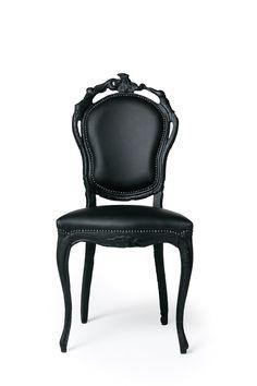 Smoke Dining Chair Stuhl Von Moooi #smoke #stuhl #moooi #marcelwanders  #linenda