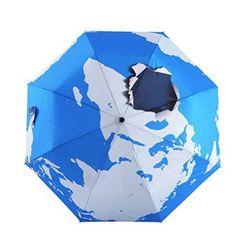 Blue Earth Original Printed Umbrella Anti Uv Folding Sun/Rain Umbrella