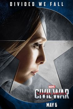 Scarlet Witch/Wanda Maximoff Character Poster Captain America: Civil War(2016)