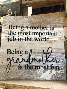 Being a Grandma is the most fun x white wash finish – Red Shed Garden and Gifts First Time Grandma, New Grandma, Grandma Gifts, Quotes About Grandchildren, Grandkids Quotes, Grandmother Quotes, Grandma Sayings, Quotes About Grandma, Funny Grandma Quotes