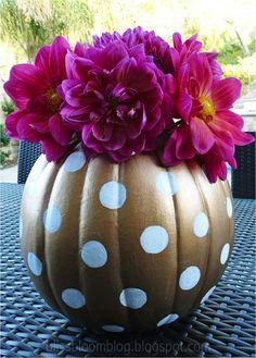DIY Halloween Decor For Your Dorm/Apartment | Her Campus -- pumpkin ...