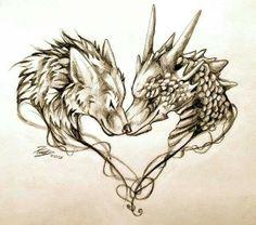 Dragon&Wolf ♥