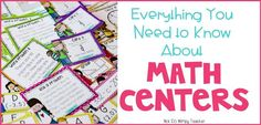 Everything You Need to Know About Math Centers - Not So Wimpy Teacher