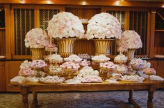 Dessert table - wedding