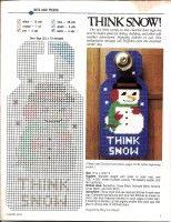 think snow 'snowman' door hang Plastic Canvas Ornaments, Plastic Canvas Tissue Boxes, Plastic Canvas Christmas, Plastic Canvas Crafts, Plastic Canvas Patterns, Plastic Card, Snowman Crafts, Christmas Crafts, Christmas Door
