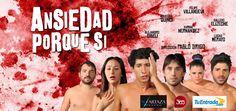 """#TEATRO """"Ansiedad porque sí"""" de Juan Paya - Junio 2012"""
