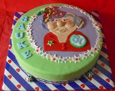 Sara taart 50th birthday cake