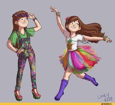 Gravity Falls,фэндомы,Mabel Pines,GF Персонажи,GF art