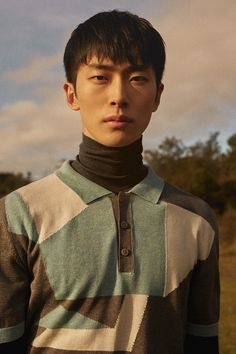 Min Shin at View photographed by Anna Sefer and styled by Jonathan León, in exclusive for Fucking Young! Online.
