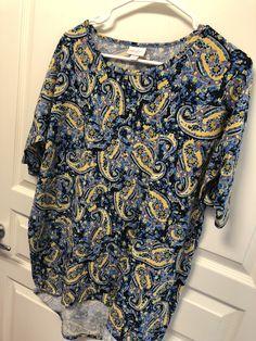 LulaRoe Irma- Medium- $30 Selling Lularoe, Medium, Blouse, Tops, Women, Fashion, Moda, Fashion Styles, Blouses