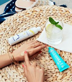 The secret to sun- and age-proofing your complexion is by wearing sunscreen. See how the latest suncare formulas can help protect your skin from damage Facial Sunscreen, Wear Sunscreen, Fresh Sugar Lip Treatment, Formula Cans, Makeup Setting Spray, Anti Aging Facial, Broad Spectrum Sunscreen, Sun Care, Summer Skin