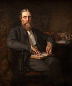 """Arthur Charles Humphries Owen (1836–1905), MP"", 1895, by George Percy Jacomb-Hood (British, 1857-1929)."