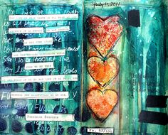 Art Journaling - with heart!