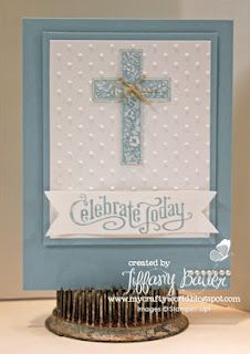 Perfectly Penned is a great word set, combined with Crosses of Hope set in baja and white Confirmation Cards, Baptism Cards, Christening Card, First Communion Cards, Première Communion, Stampin Up Karten, Stampin Up Cards, Kids Cards, Baby Cards